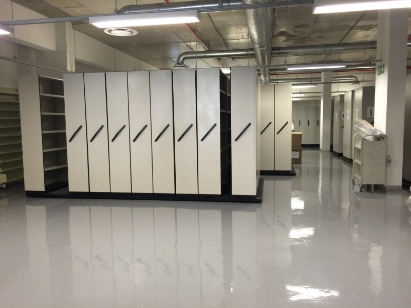 eTV High Density Storage Unit